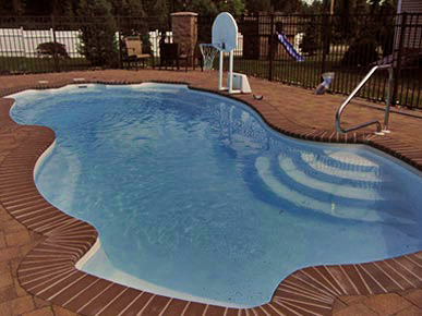 Brian G Persing Masonry residential outdoor pool brick pavers